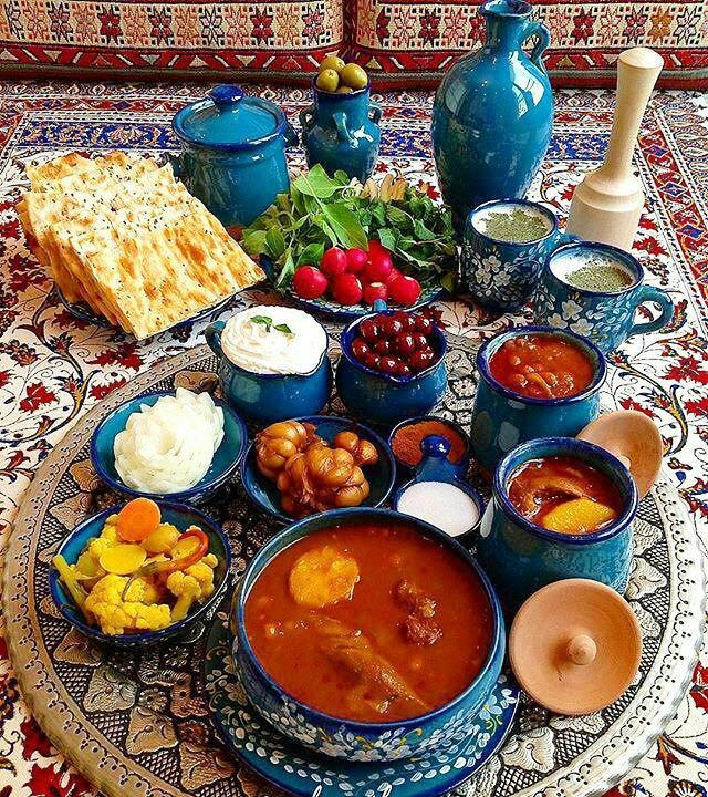 A food journey to the heart of persia irantourcenter for Ancient persian cuisine